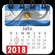 Calendario 2018 Argentina con festivos y laboral by Appsamimanera