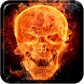 Fire Skulls Live Wallpaper by Bill Tom
