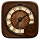 Wood GO Clock Theme by Ltd. talent