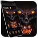 Horror Devil Skull Blood King Theme by The Best Android Themes