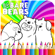 Coloring book for We Bare Bears by Didy maik
