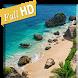 Beautiful beach in Bali 3D LWP