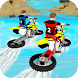 Water Surfing Bike Race by The Knights Inc.