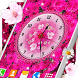 Flowers Analog Clock Live Wallpaper by 3D HD Moving Live Wallpapers Magic Touch Clocks