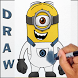 How To Draw Despicable Me by Drawing Tutoriels