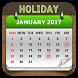 Indian Holiday Calendar 2017 by RIMAN VEKARIYA