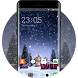 Christmas Themes for Oppo A57 Snowy Village by theme design