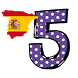 spanish numbers memory game by french4you
