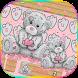 Teddy Bear Keyboard Theme Cute Bear in love by NeoStorm We Heart it Studio
