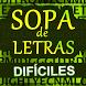 Sopa de letras dificiles by Ocio