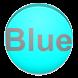 Blue calculator by yodotono