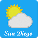 San Diego, CA - weather by Dan Cristinel Alboteanu