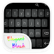 Emoji Keyboard-Elegant Black by BarleyGame