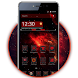 Red Galaxy Tech Theme by Classic Android Themes