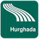 Hurghada Map offline by iniCall.com