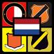Denk Nederlandse voetbalclub by NadeTahu Studio
