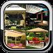 Home Outdoor Patio Garden Design Decoration Ideas by Prangel Technology