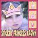 snap sticker princess crown by GameTeam
