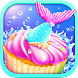 Mermaid Unicorn Cupcake Bakery Shop Cooking Game by Crazy Cats