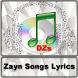 Zayn Songs Lyrics by DZS APPS