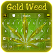 Gold Weed Keyboard by Luna Themes