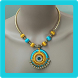 Silk Thread Necklace by Ladyzeal