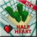 Half Heart map for MCPE by Best Fan Maps MCPE