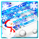 Snow Christmas Keyboard Theme
