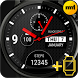 Watch Face Black Style by Mobi Market Labs