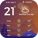 Local Free Weather Widget by Applock Security