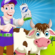 Milk Factory Farm Cooking Game by TipTopApps