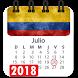 Calendario 2018 colombia con festivos semana santa by Appsamimanera