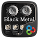 Black Metal GO Launcher Theme by Freedom Design
