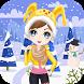 Dress Up Girl winter game by 94dev