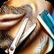 Barber shop Beard & Mustache by romeLab
