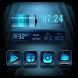 2018 Cool Blue Theme Launcher by Weather Widget Theme Dev Team
