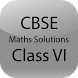 CBSE Maths Solutions Class VI by R M Apps