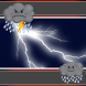 Lightning Clock And Weather by Super Clock and Weather