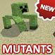 Mod on mutants for MCPE by Tarkala Mods