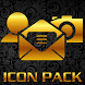 ICON PACK GOLD THEME LAUNCHER by Tak Team Studio