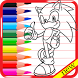 coloringo for sonic by said