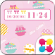 POP Macaron Wallpaper Theme by +HOME by Ateam