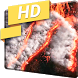 Volcanic Eruption Fire 4K LWP