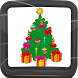 Xmas Tree Coloring Book by Compass Coloring Book