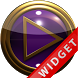 Poweramp Widget Purple Gold by Maystarwerk Skins & Widgets Vol.1