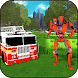 Super Robot Firefighter Truck Missions