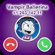 Call Ballerina Vampirina - Vampire Girl by Callitos Studio