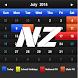 New Zealand Calendar 2017 by GG Studios