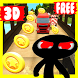 stickman subway runner : jungle surf by mixamo studio