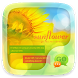 (FREE) GO SMS SUNFLOWER THEME by ZT.art